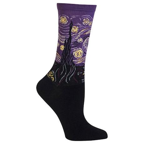 Women's Fine Art Socks