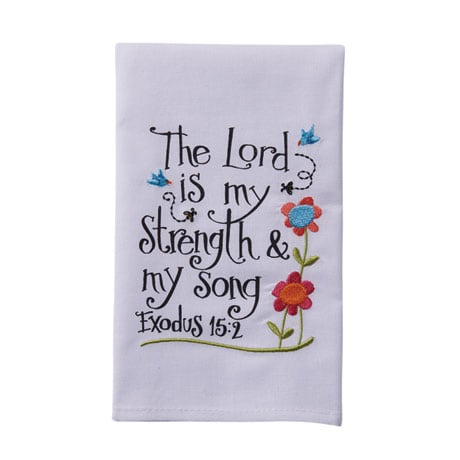 Psalms Verses Hand Towels