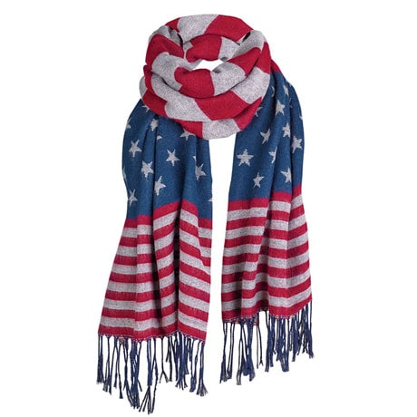 Stars & Stripes Scarf/Wrap