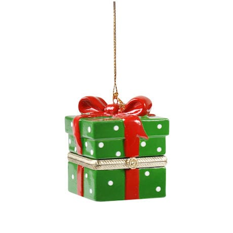 Porcelain Surprise Ornaments Box