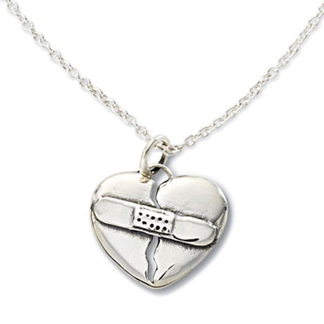 Sterling Silver Love Heals Necklace