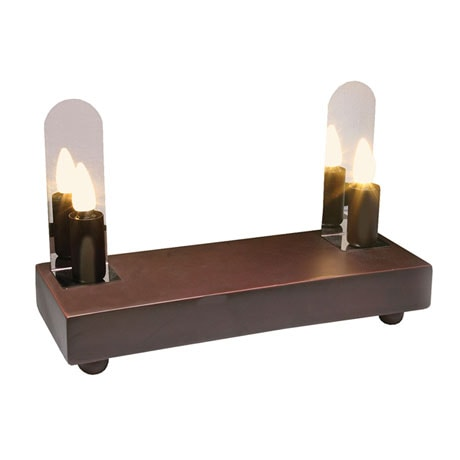 Battery Powered LED Fireplace Illuminator