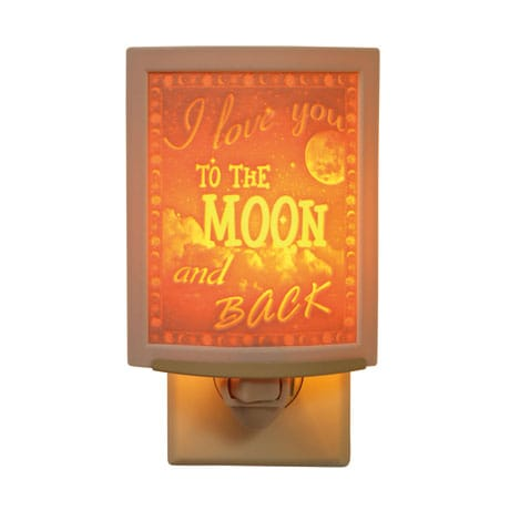 I Love You To the Moon and Back Night Light