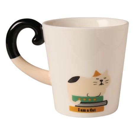 Cat Tail Mugs - Calico Cat
