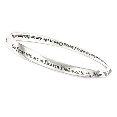 Lord's Prayer Mobius Bracelet