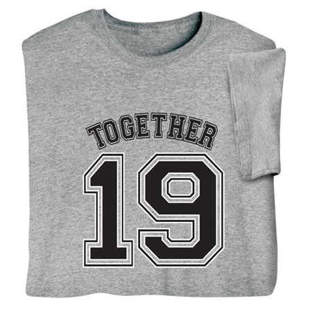 Personalized 'Together' Shirts