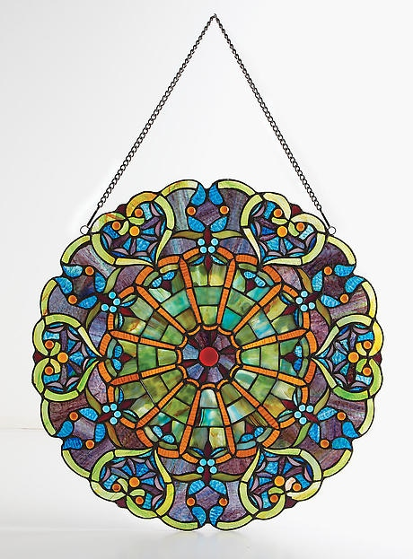 Victorian Hearts Stained Glass