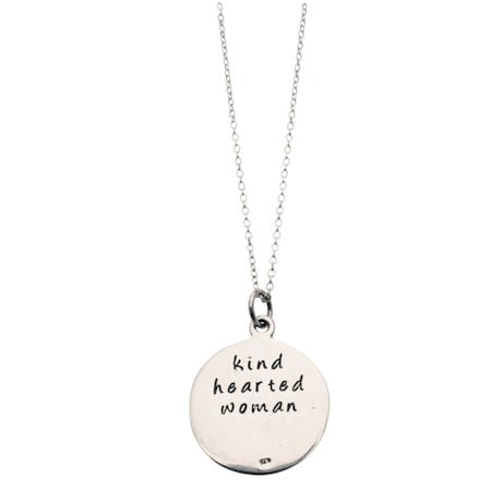 Kind-Hearted Woman Sterling Necklace