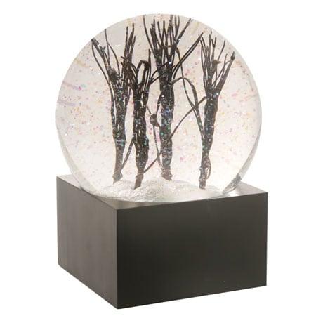 Lighted Trees Snow Globe