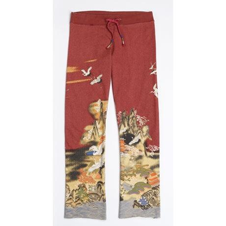 Asian Print Lounge Pants