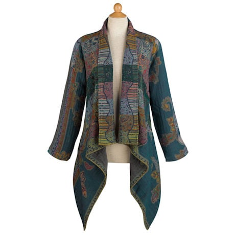 Blue Jasmine Wool Jacket
