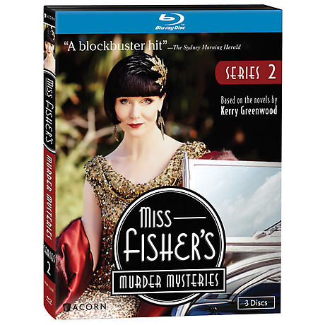 Miss Fisher's Murder Mysteries: Series 2 DVD & Blu-ray