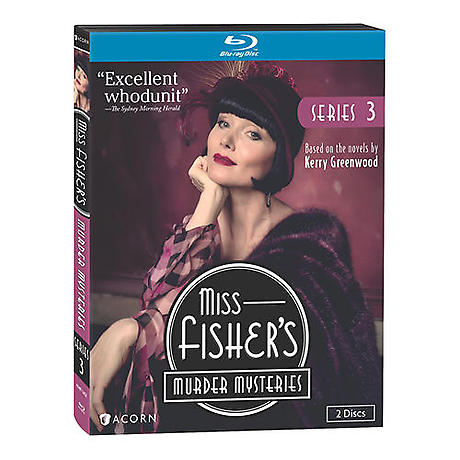 Miss Fisher's Murder Mysteries: Series 3 DVD & Blu-ray