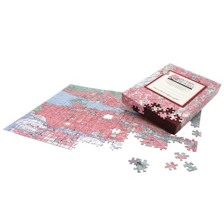 Personalized Hometown Jigsaw Puzzle - Canadian Edition
