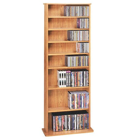 Standing Towers Media Storage: Single
