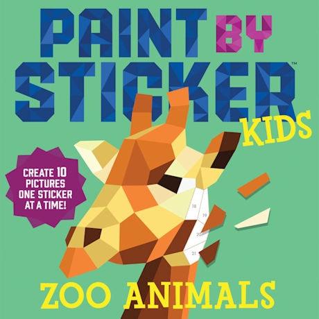 Paint by Sticker Kids: Zoo Animals