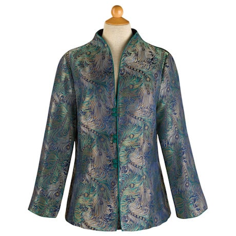 Peacock Tapestry Jacket