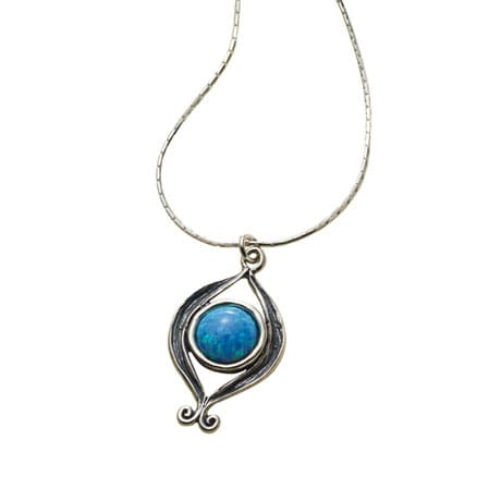 Opal Fire Necklace
