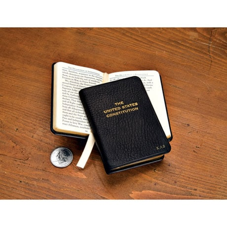 Leatherbound Pocket-Size US Constitution