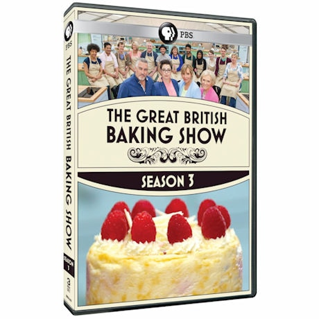 The Great British Baking Show: Season 3 DVD