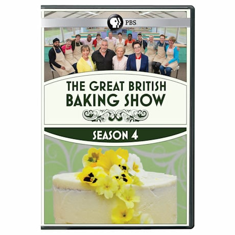 The Great British Baking Show: Season 4 DVD