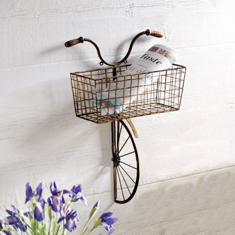 Iron Bicycle Wall Decor