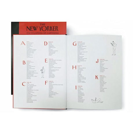 The New Yorker Encyclopedia of Cartoons Slip-cover Books