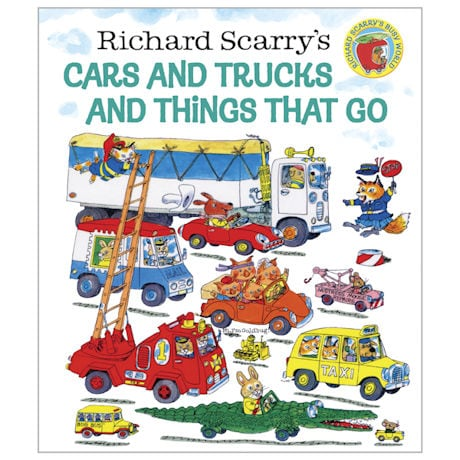 Cars & Trucks & Things That Go Hardcover Book