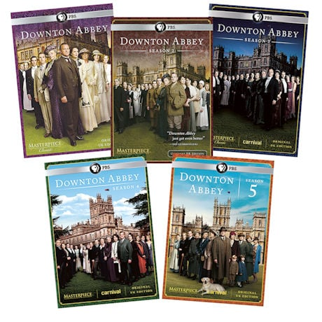 Downton Abbey - Seasons 1-5 DVD Set