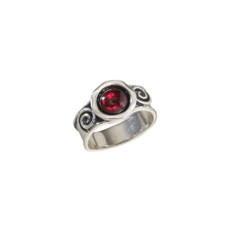 Constance Red Garnet Ring