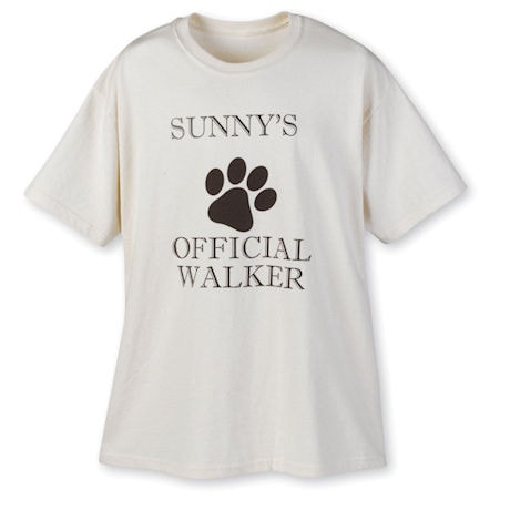 Personalized Official Walker Shirt