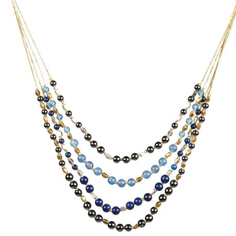 Cascade Blues Necklace
