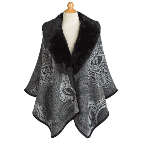 Paisley Reversible Cape