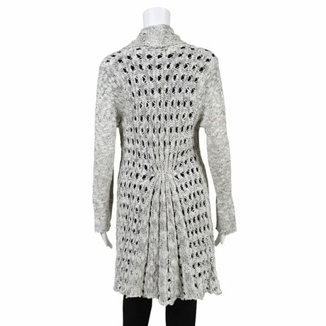 Open Weave Tunic Sweater