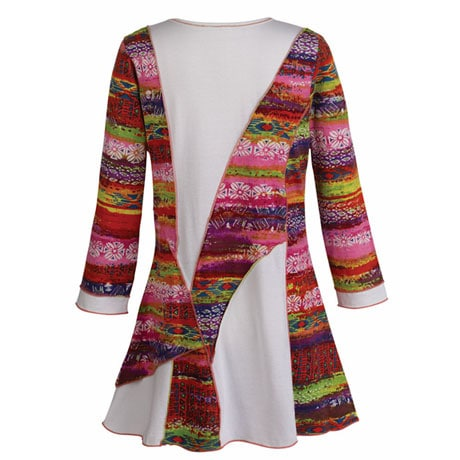 Spirited Spiral Tunic Top