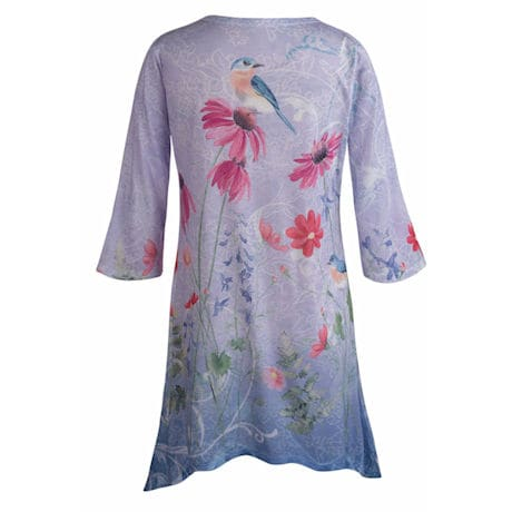 Bluebird Tunic Top
