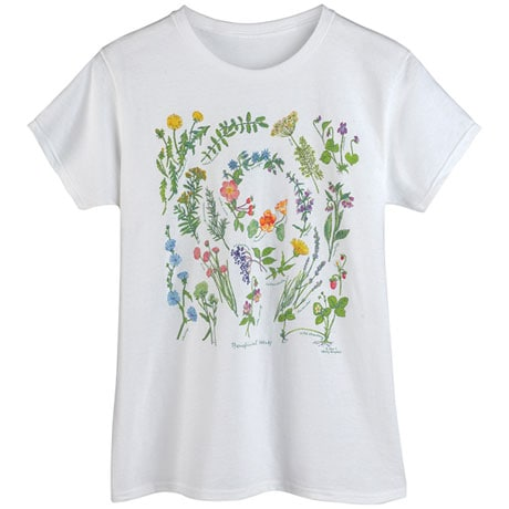 Healing Herbs Ladies' T-Shirt