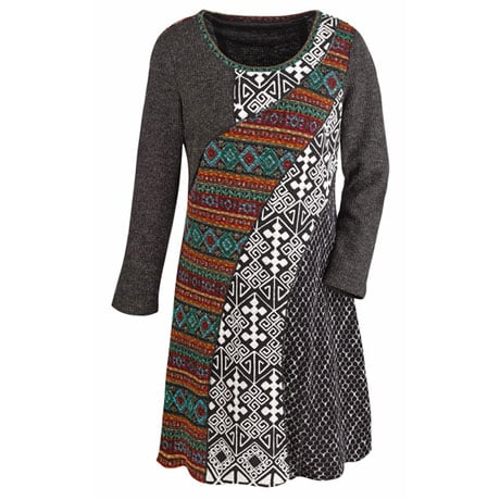 Dynamic Knit Dress