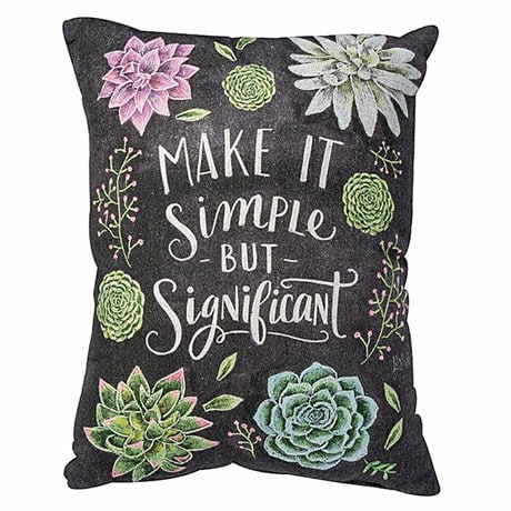Simply Significant Pillow