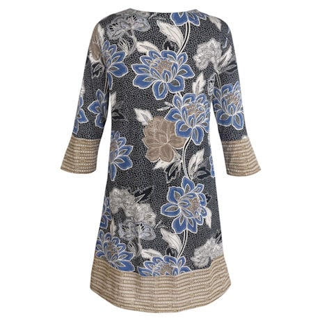 Indira Long Tunic Top