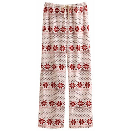 Fair Isle Snowflake Lounge Pants