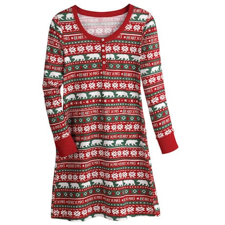 Beary Christmas Nightdress