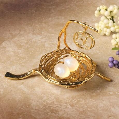50th Golden Anniversary Blessings Nest