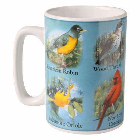 American Songbirds Musical Mug