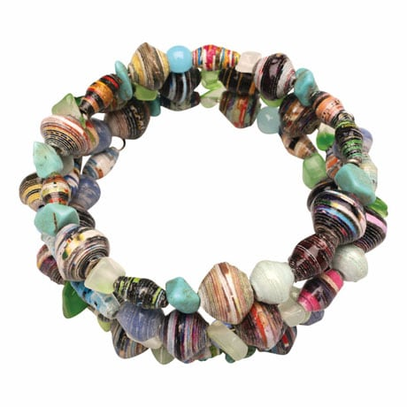 Earth's Gifts Coil Bracelet