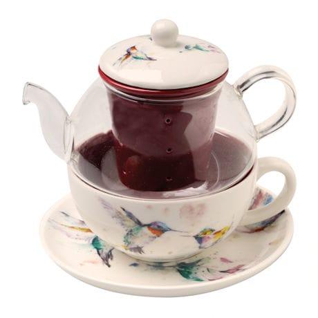 Hummingbirds Tea-For-One Set