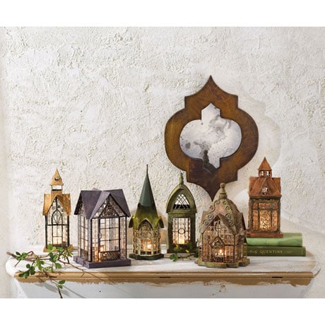 Architectural Tea Light Candle Lantern: Windale
