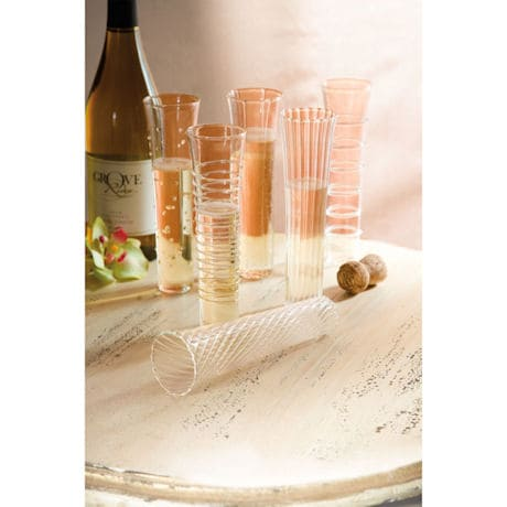 Mimosa Flutes (Set of 6)