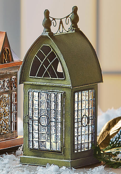 Architectural Tea Light Candle Lantern: Durham