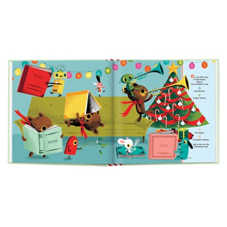 "Personalized ""My 12 Days of Christmas"" Story Book"